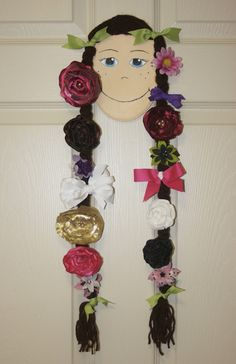 Hair clip holder for little girls - @Amy Babb, @Lori Motl, @Melinda Langford, @Smitty Gaden