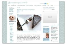 10 inspiring blogs for gluten-free food & cooking.