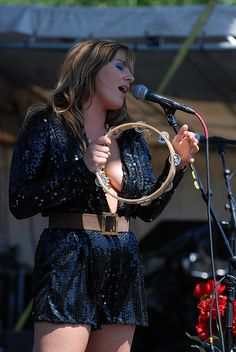 Grace Potter at Rothbury 2009 by Backstage Gallery, via Flickr