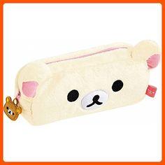 San-X Korilakkuma Plush Pencil Case/Pen Pouch - Fun stuff and gift ideas (*Amazon Partner-Link)