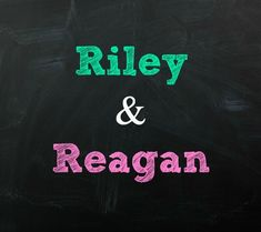 Riley and Reagan Twin Baby Names | Disney Baby