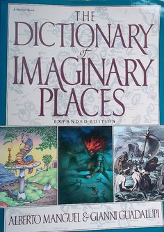 DICTIONARY of IMAGINARY PLACES Book Never by WhiteWolfeNativeArts, $8.00