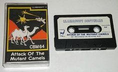 Attack of the Mutant Camels - Commodore 64 cassette