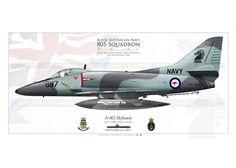 "A-4G ""Skyhawk"" 805 SQD RAN JP-2204SP"