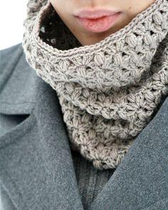 PDF PATTERN Crochet Cowl Heather por CrochetbyMarianneS en Etsy