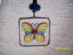 Check out this item in my Etsy shop https://www.etsy.com/listing/159176195/21-butterfly-glass-necklace