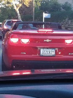 """I saw the """"Jazz Lover"""" license plate, but this one's just crazy... - Imgur"""