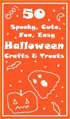 LOVE these halloween crafts - one cute than the next and a Halloween Craft to suit every age!
