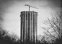 Stonehenge Apartments being built - 1966