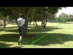How To Learn Curving The Ball Out Of Trouble - YouTube