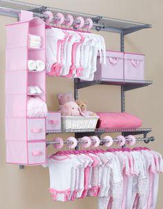 Baby Room Storage, Storage Sets, Baby Clothes Storage, Diy Nursery Storage Ideas, Nursery Ideas, Ikea Nursery, Project Nursery, Nursery Rugs, Baby Closet Organization
