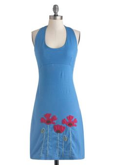 Love it! Got it! Sprout of the Blue Dress, #ModCloth