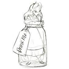 Kara 2 - disney alice in wonderland characters sketches - Google Search