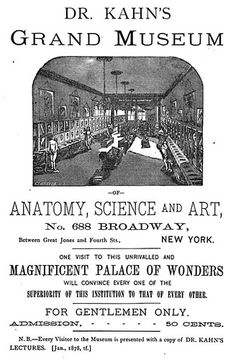 Dr,. Kahn's Grand Museum. Also it is a Magnificent Palace of Wonders. And of hyperbole.