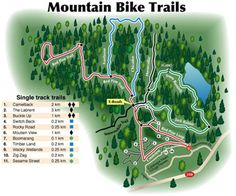 X Country Mountain Biking: Be seduced by the beautiful scenery and enchanting landscapes of the cross country trails. Experience nature like never before as you wind through some of the most amazing scenery on trails. X-Country trails north of Calabogie Peaks Resort (map shown) are not maintained or controlled by the Resort. These trails are accessible by the public at any time.