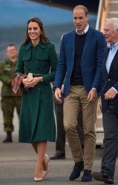 Kate Middleton Débarque au Canada Avec Élégance