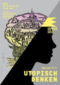 Gute Plakate :: müller***** - Utopisch Denken | www.guteplakate.de