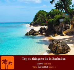 Top 10 things to do in Barbados | Caribbean Island Travel | Scoop.it