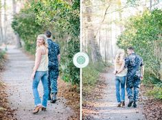 Aaron and Jillian Photography » Husband and Wife International Engagement & Wedding Photographers based in Charleston, South Carolina. Military engagement photos at Cypress Gardens!