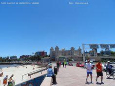 PLAYA RAMIREZ em Montevidéu,Uruguai. Fica próxima ao Parque Rodó. Foto : Cida Werneck