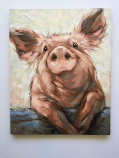 Pig painting Origina