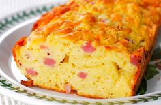 Savory Ham & Cheese Bread for a Late Summer Lunch (or, what to do with leftover ham and cheese) Lunch Box Recipes, Milk Recipes, Baking Recipes, Breakfast Recipes, Bread Recipes, Lunchbox Ideas, Yummy Recipes, Cheese Bread, Ham And Cheese