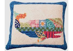 patchwork whale pillow...that's it...I HAVE to make this one...it is just toooo cute!!!!