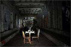 Romantic dinner in abandoned New York subway!!!  (underbelly popup 01 600x399 New York City's Hidden Subway Station)