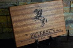 Personalized Cutting Board Engraved Cutting by KottageInspirations