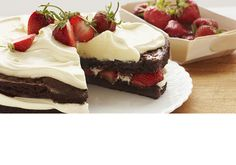 about Strawberries on Pinterest | Strawberry brownies, Strawberry ...