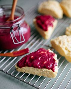 Some the Wiser: Triple Berry Curd, I think this would be lovely with a cream scone recipe I have!