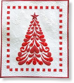 Feathered Christmas  Pre-Cut Quilt Kit