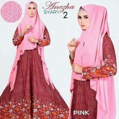 anezha II pink Rp135rb, bahan katun, sleting depan, jilbab bubble pop tanpa pad, ld 100cm, pjg 139cm, lebar bawah 250cm, berat 750grgr  contact us  FB fanpage: Toko Alyla  line@: @alylagamis  WA: 0812-8045-6905    toko online baju muslim  gamis murah  hijab murah  supplier hijab  konveksi gamis  agen jilbab