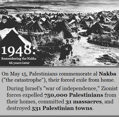 Al Nakba - the Catastrophe