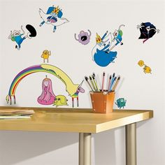 Adventure Time Wall Decals. Yesssssss.