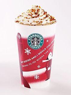 You're welcome. Starbucks Drink Recipes- Copy Cat * Gingerbread Latte* * Caramel Brulée Latte* * Pumpkin Spice Latte* * Peppermint Mocha** Eggnog Latte* * Chai Tea Latte*