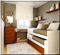 quarto pequeno decorado