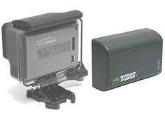 awesome Wasabi Power Extended Battery for GoPro HERO