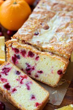 Cranberry Orange Pound Cake