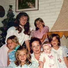 'I love you mom!' Gisele Bundchen shared a rare throwback snap of her five sisters and mother Vânia Nonnenmacher as she celebrated U.S. Mother's Day on Sunday