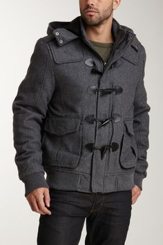 For Him: X-Ray Quilted Wool Jacket