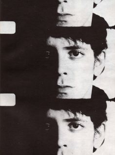 Andy Warhol and Gerard Malanga, Screentests: Lou Reed, 1966