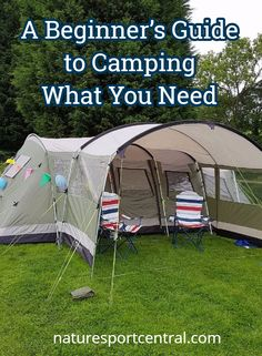 Beginner's guide to camping! What you need