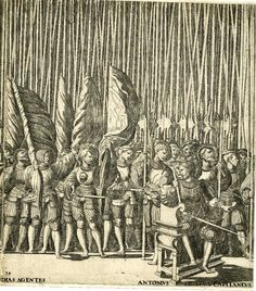 Artist: Hogenberg, Nicolaas, Title: Emperor Charles V in procession after his coronation by Pope Clement VII at Bologna, Plate Landsknechts and Antonio de Leyva, Date: Medieval Art, Renaissance Art, Early Modern Period, Landsknecht, Historical Images, Historical Costume, Gravure, British Museum, Ireland