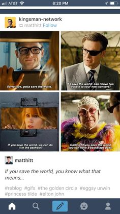 I'm so done with these fucking movies. I want to binge them so bad 😂😂 Kingsmen The Secret Service, Eggsy Kingsman, Fandom Kpop, Kings Man, Taron Egerton, Colin Firth, Hilarious, Funny, Held