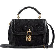 DOLCE & GABBANA Small fabric bag ($980) ❤ liked on Polyvore