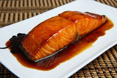 Spicy Maple Baked Salmon. Looks amazing! Must try.