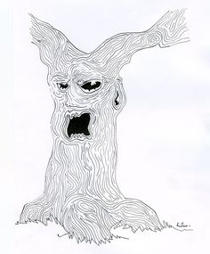 #tree #drawing #pencil #blackandwhite Old tree - by raphmau.com Pencil, Drawings, Art, Art Background, Kunst, Sketches, Performing Arts, Drawing, Portrait