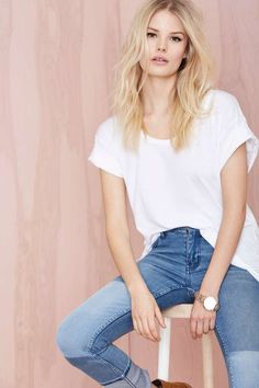 New Boyfriend Tee - White | Shop What's New at Nasty Gal