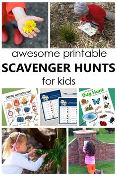 Use these free printable scavenger hunts for kids indoors and outdoors. These scavenger hunt ideas are fun for toddlers, preschoolers and even big kids. Preschool Playground, Preschool Garden, Scavenger Hunt For Kids, Scavenger Hunts, Fun Learning, Preschool Activities, Spring Activities, Natural Play Spaces, Outdoor Fun For Kids